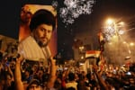 Image Iraq elections empower ex-militia leader Muqtadaal-Sadr, once referred to as 'The Most Dangerous Man in Iraq' [Lima Charlie News] [Image: Reuters / Habi Mizban]