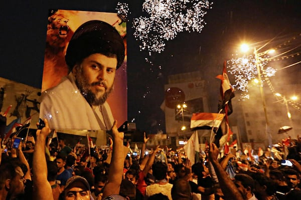 Image Iraq elections empower ex-militia leader Muqtada al-Sadr, once referred to as 'The Most Dangerous Man in Iraq' [Lima Charlie News] [Image: Reuters / Habi Mizban]