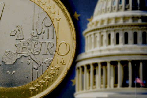 As U.S. doubles down on debt, EU austerity is paying dividends