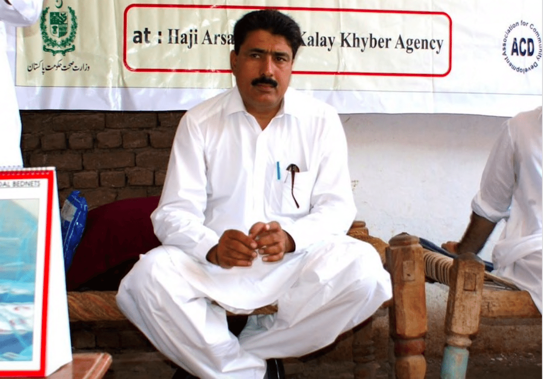 Image Doctor Shakeel Afridi in 2010. (Mohammad Rauf/Agence France-Presse)