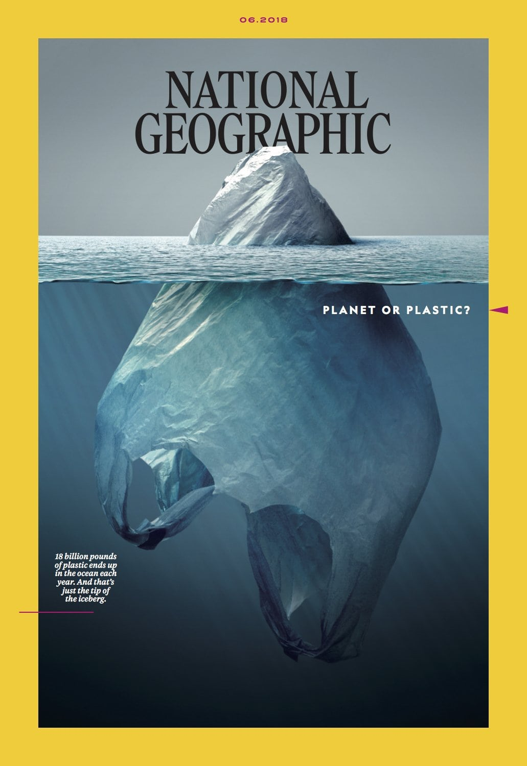 Image National Geographic cover for June 2018 [By Jorge Gamboa]
