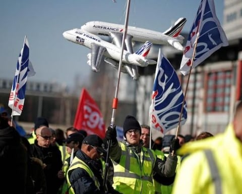 Air France paralyzed by strikes [Lima Charlie News] [Photo by Le Parisien]
