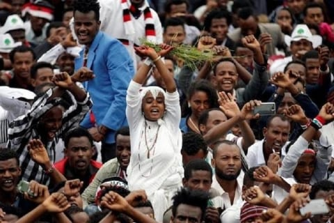 Image Ethiopia's first Oromo Prime Minister looks to usher in new era of peace and prosperity [Lima Charlie News][Photo: Reuters]