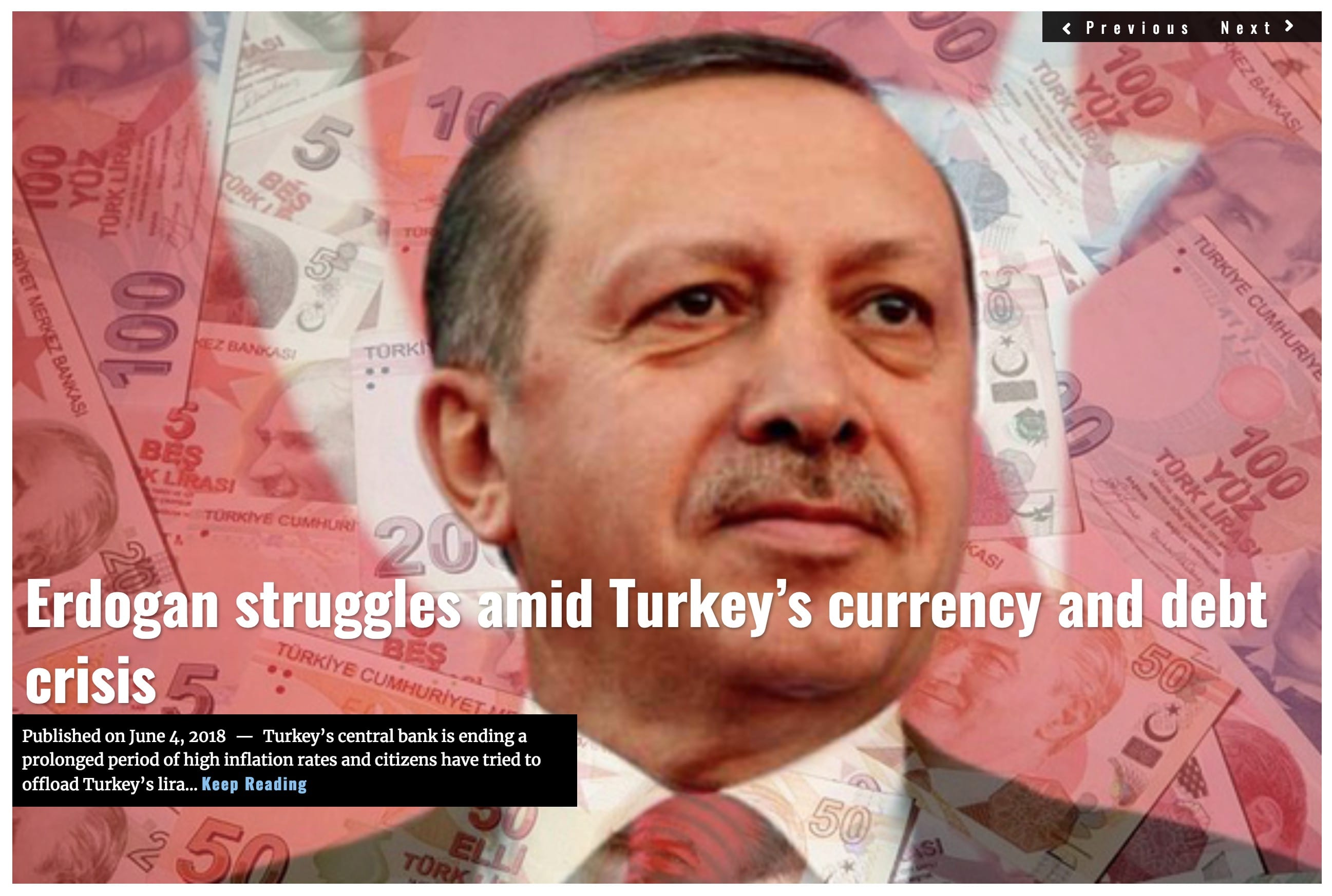Image Lima Charlie News Headline Erdogan struggles JUN 4 2018