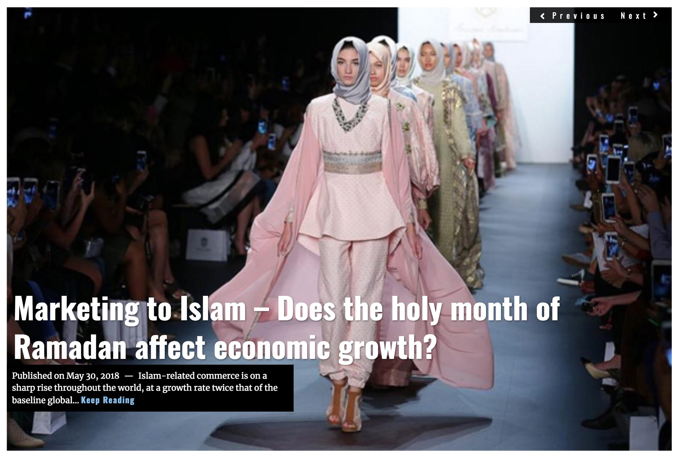 Image Lima Charlie News Headline Marketing to Islam – Does the holy month of Ramadan affect economic growth