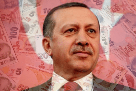 Image Erdogan struggles amid Turkey's currency and debt crisis [Lima Charlie News]