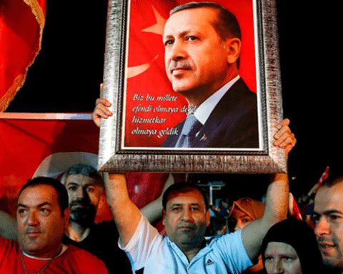 Image Opinion | Turkey trades Democracy over promises of greatness [Lima Charlie News][Photo: Lefteris Pitarakis / AP]