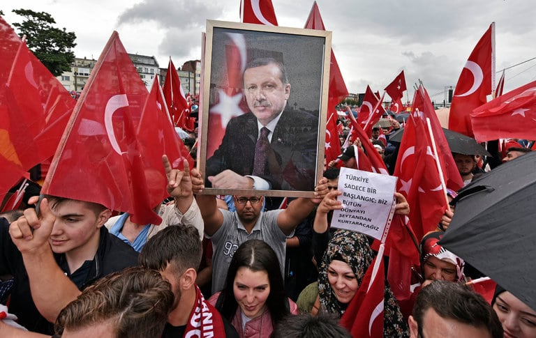 image Erdogan rally