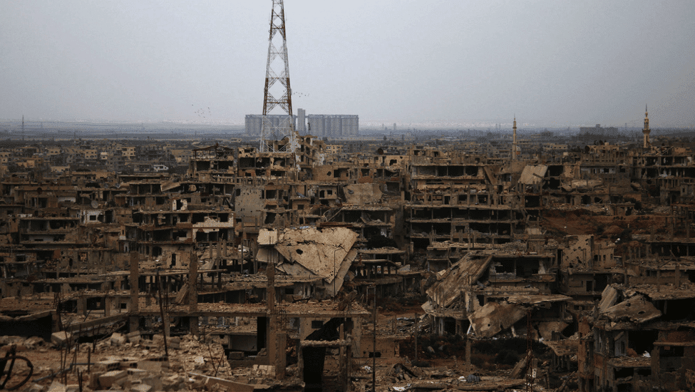 Image [Daraa, Syria (Photo via geopoliticalfutures.com)]