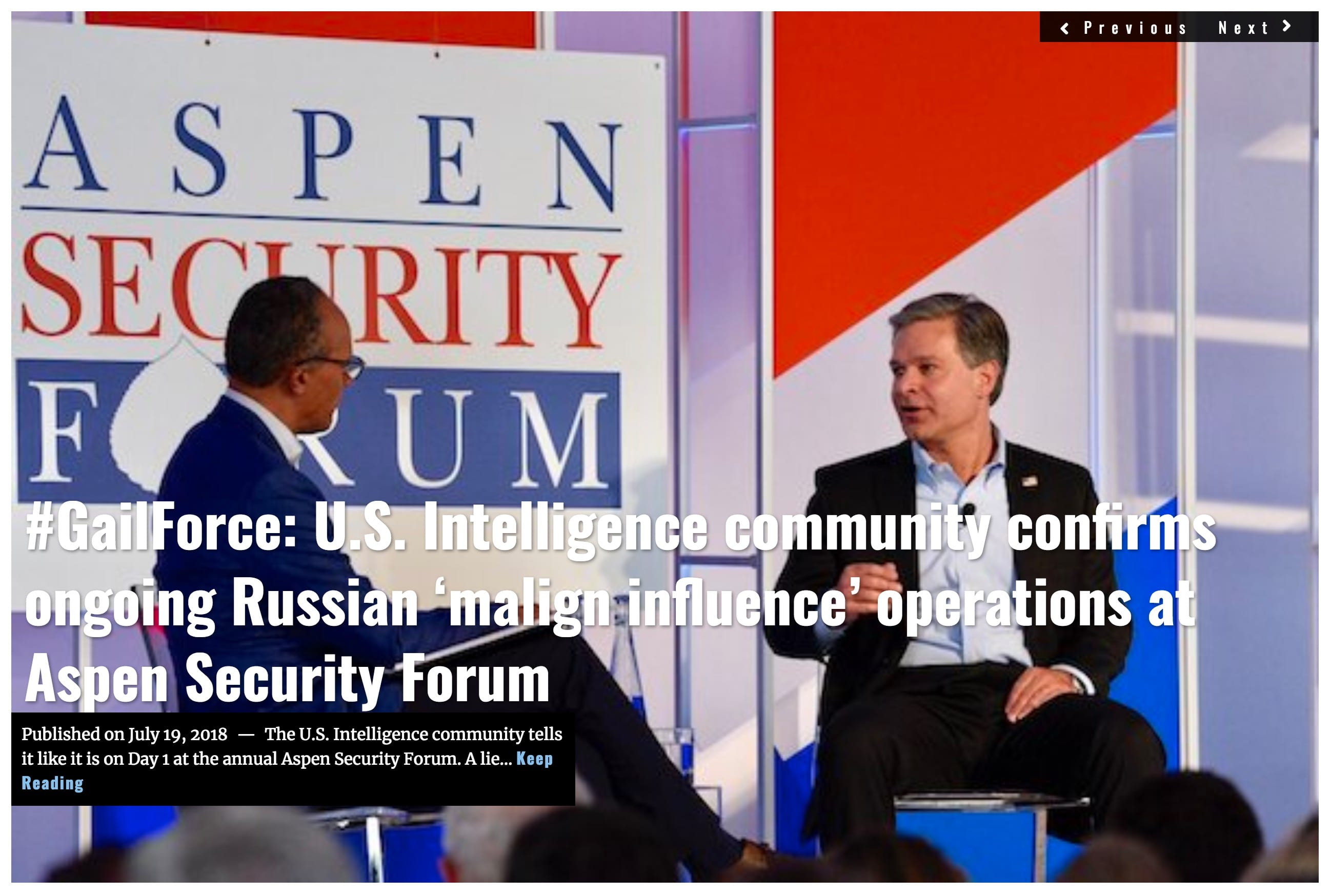 Image Lima Charlie News Headline Aspen Security Day 1 JUL 19 2018 (1)