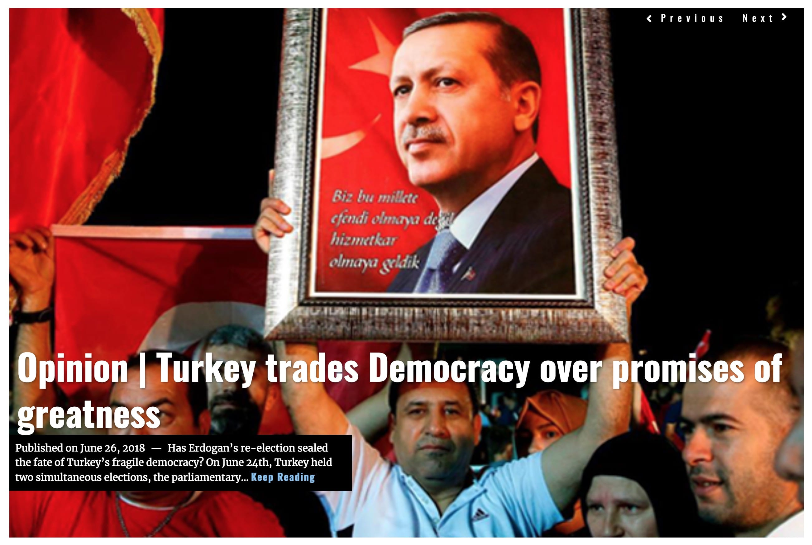 Image Lima Charlie News Headline Turkey Trades Democracy JUN 26 2018