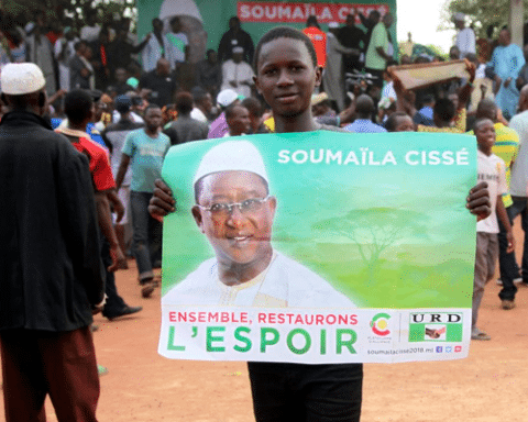 Image Mali's election - West Africa hangs in the balance over a peace that never was [Lima Charlie News][Photo: Baba Ahmed / AP]