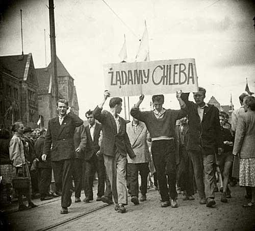 Image Poznan protest Poland 1956