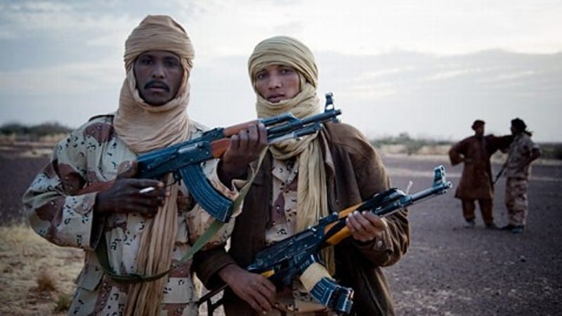 Image Mali Tuareg rebels