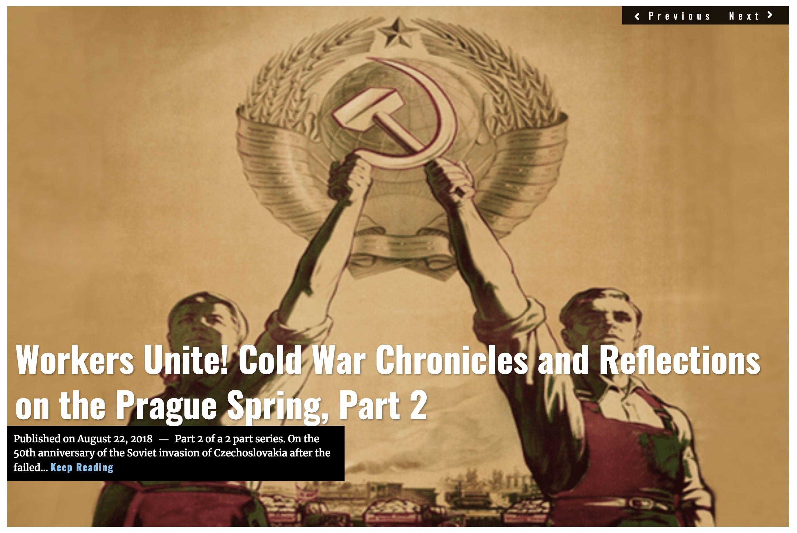 Image Lima Charlie News Headline Workers Unite - Prague Spring Part 2 AUG 22 2018 G.Busch