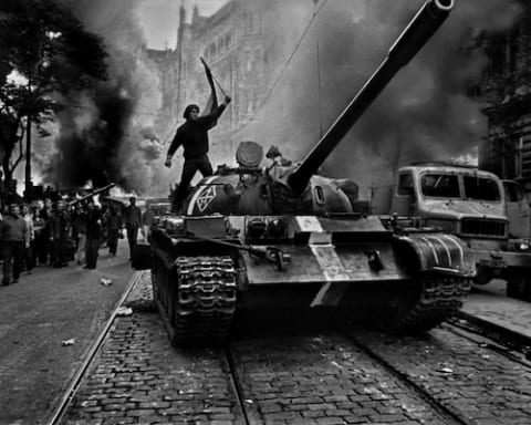 Image Workers Unite! Soviet Influence, Eastern Europe and Reflections on the Prague Spring [Lima Charlie News][Photo: Josef Koudelka]