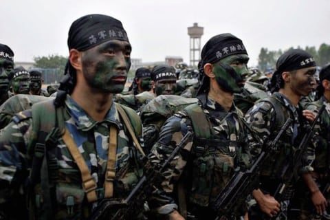 Image Beijing to the rescue - China considers military intervention in Syria [Lima Charlie News]