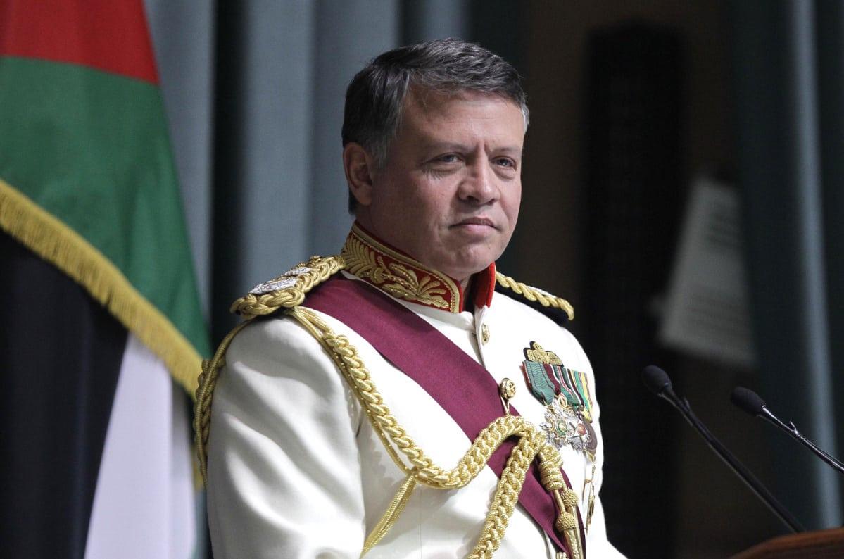 Image [Jordan King Abdullah II (KHALIL MAZRAAWI / AFP)]