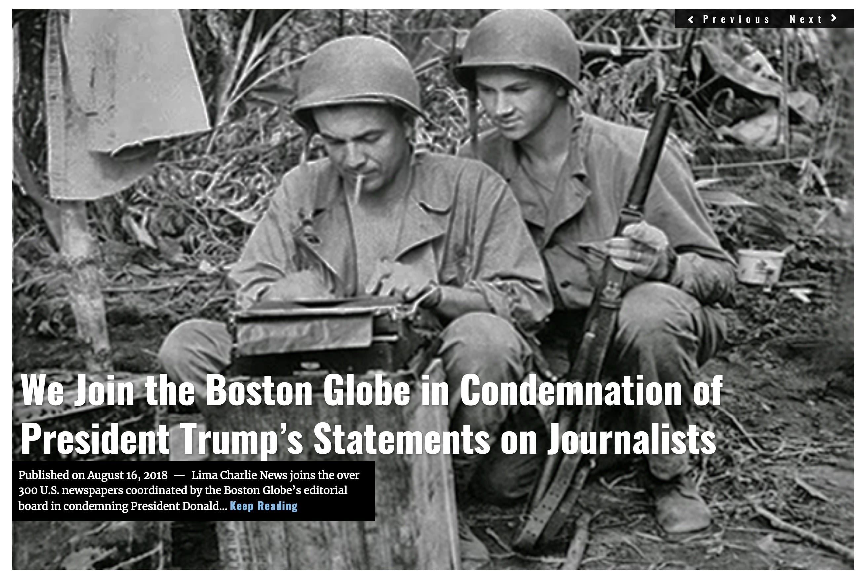 IMage Lima Charlie News Headline OpEd Fake News M.Korzen AUG 16 2018