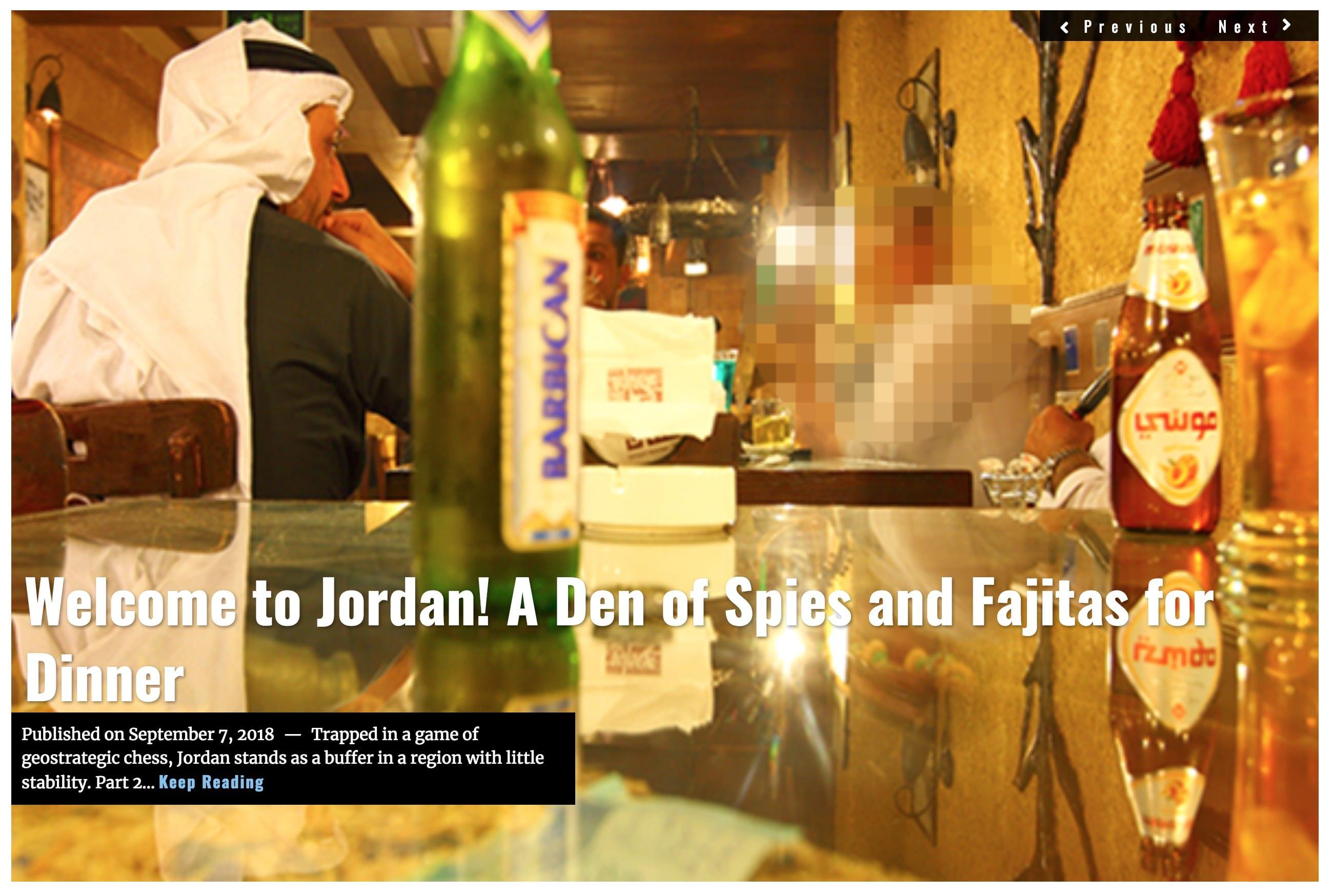 Image Lima Charlie News Headline Welcome to Jordan SEPT 7 2018