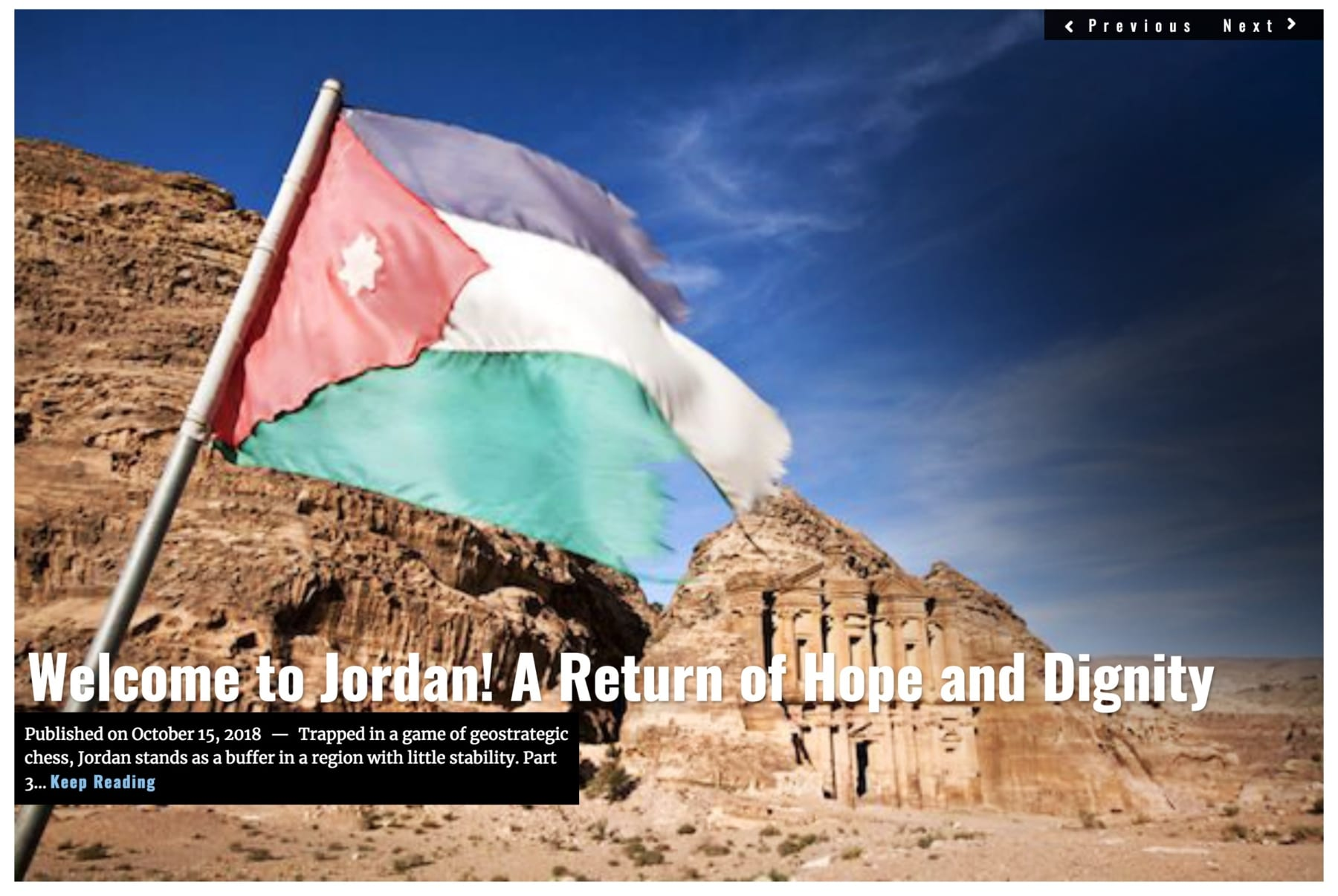 Image Lima Charlie News Headline Welcome to Jordan Part 3 OCT 15 2018
