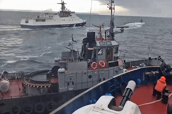 Image Crimea crisis escalates after Russian Ukrainian naval incident [Lima Charlie News]