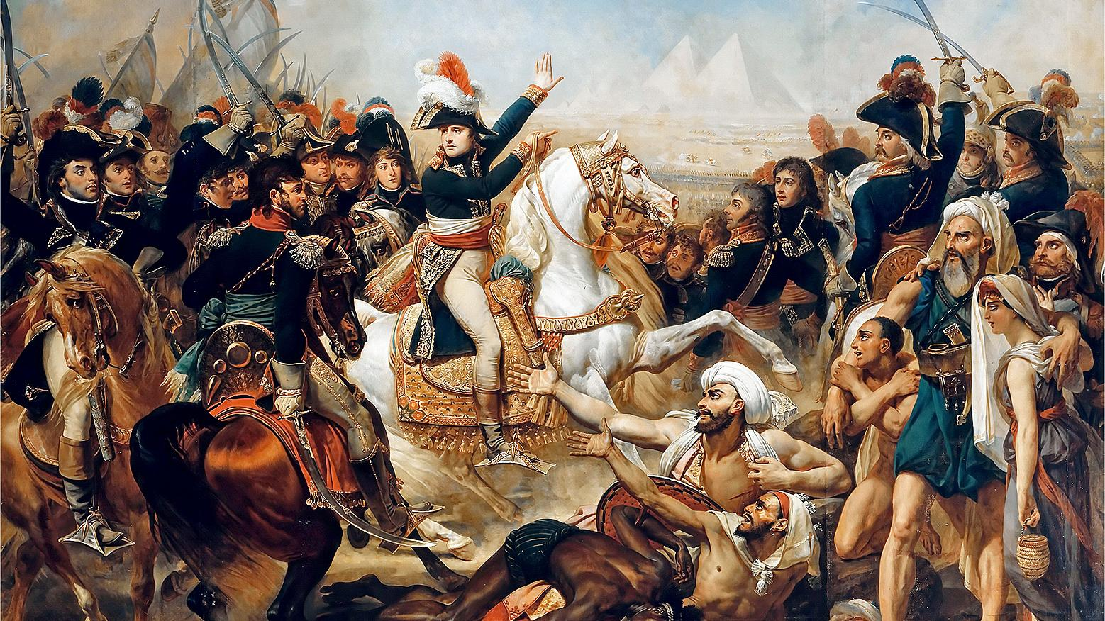 Image [Napoleon crushes the Mamluk army in 1798. The shock caused the Islamic world to start modernising. FINE ART IMAGES/HERITAGE IMAGES]