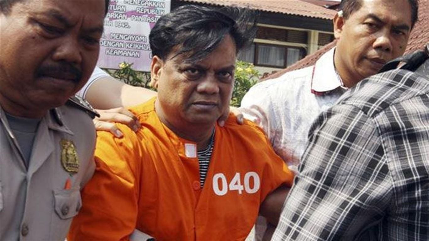 Image [Rajendra Sadashiv Nikalje, popularly known as Chhota Rajan, served as the boss of a major crime syndicate based in Mumbai. He is currently serving a life sentence at Taloja Jail in Navi Mumbai.]