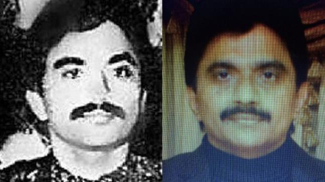 "Image [Known as the ""CEO of D-Company, Chhota Shakeel is not one for photographs. In 2018, via Indian agencies, India Today accessed an old picture of Chhota Shakeel (L)(1980s) and a photo (R) believed to have been taken in 2016]"