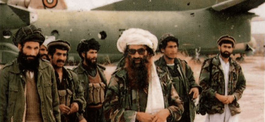 Image [Jalaluddin Haqqani (c), former head of the Haqqani network]