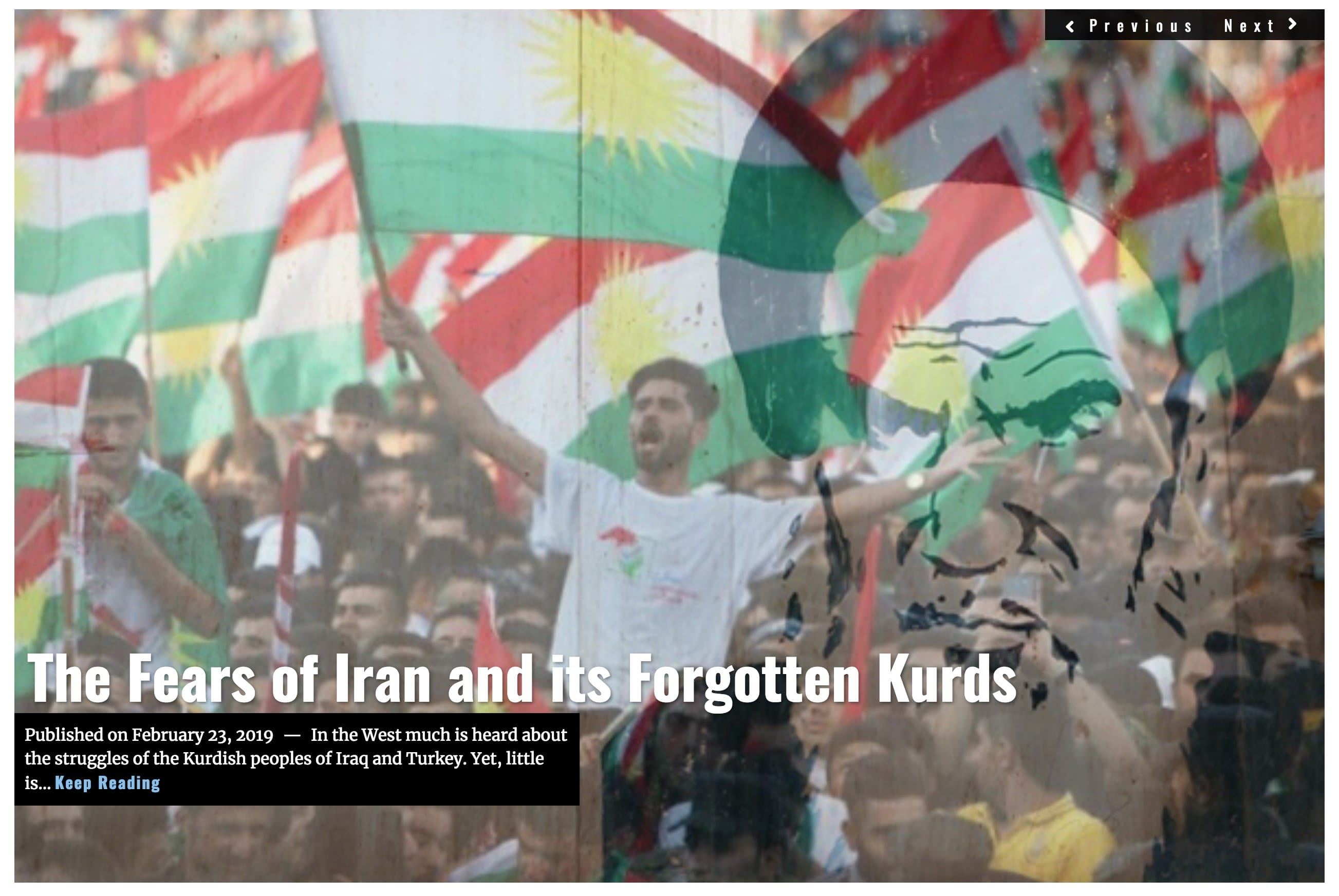 Image Lima Charlie News Headline Fears of Iran Forgotten Kurds DeAtkine FEB 23 2019