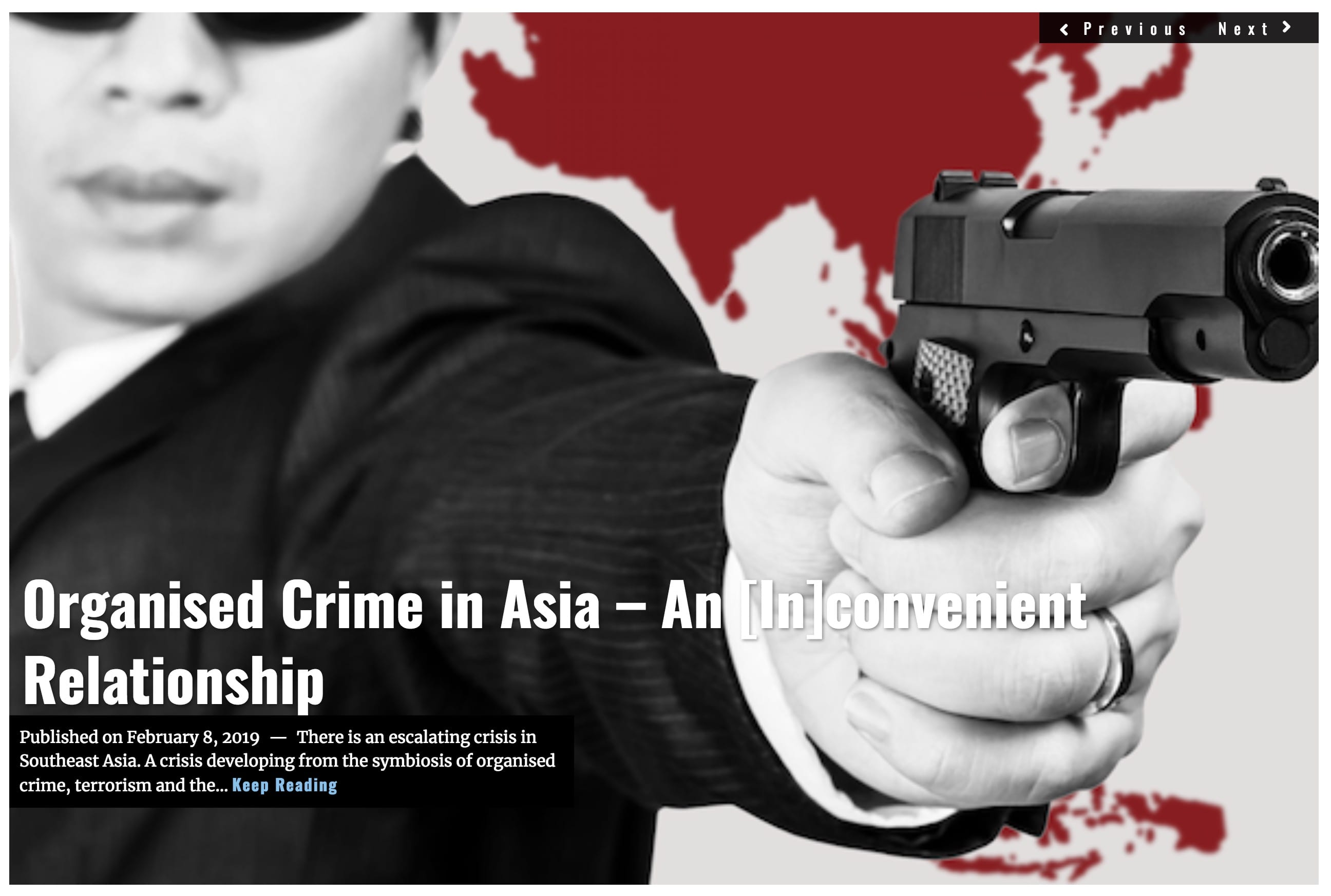 Image Lima Charlie News Headline - Organised Crime Asia FEB 8 2019
