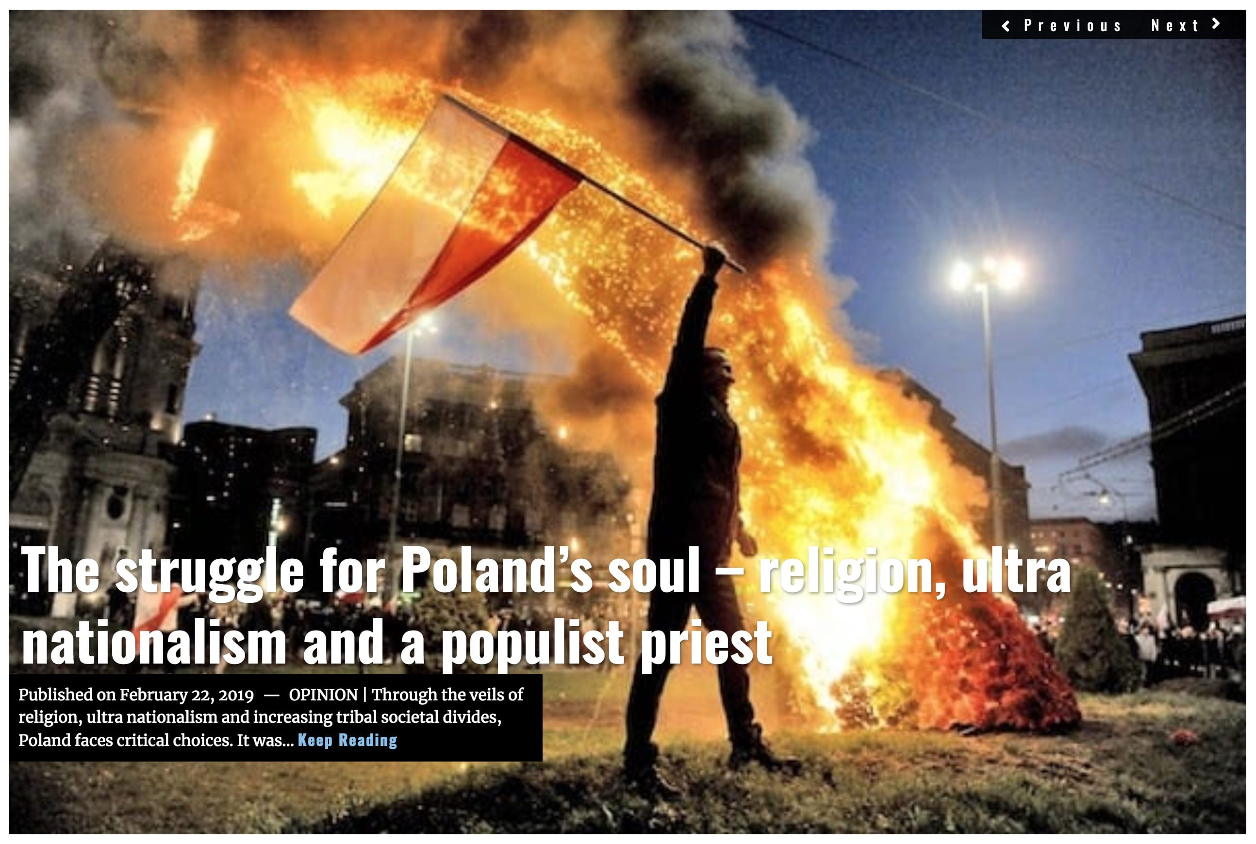 Image Lima Charlie News Headline Struggle for Poland's Soul Sjoholm FEB 22 2019