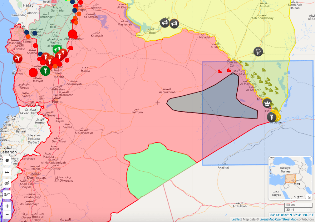 Image Syria map