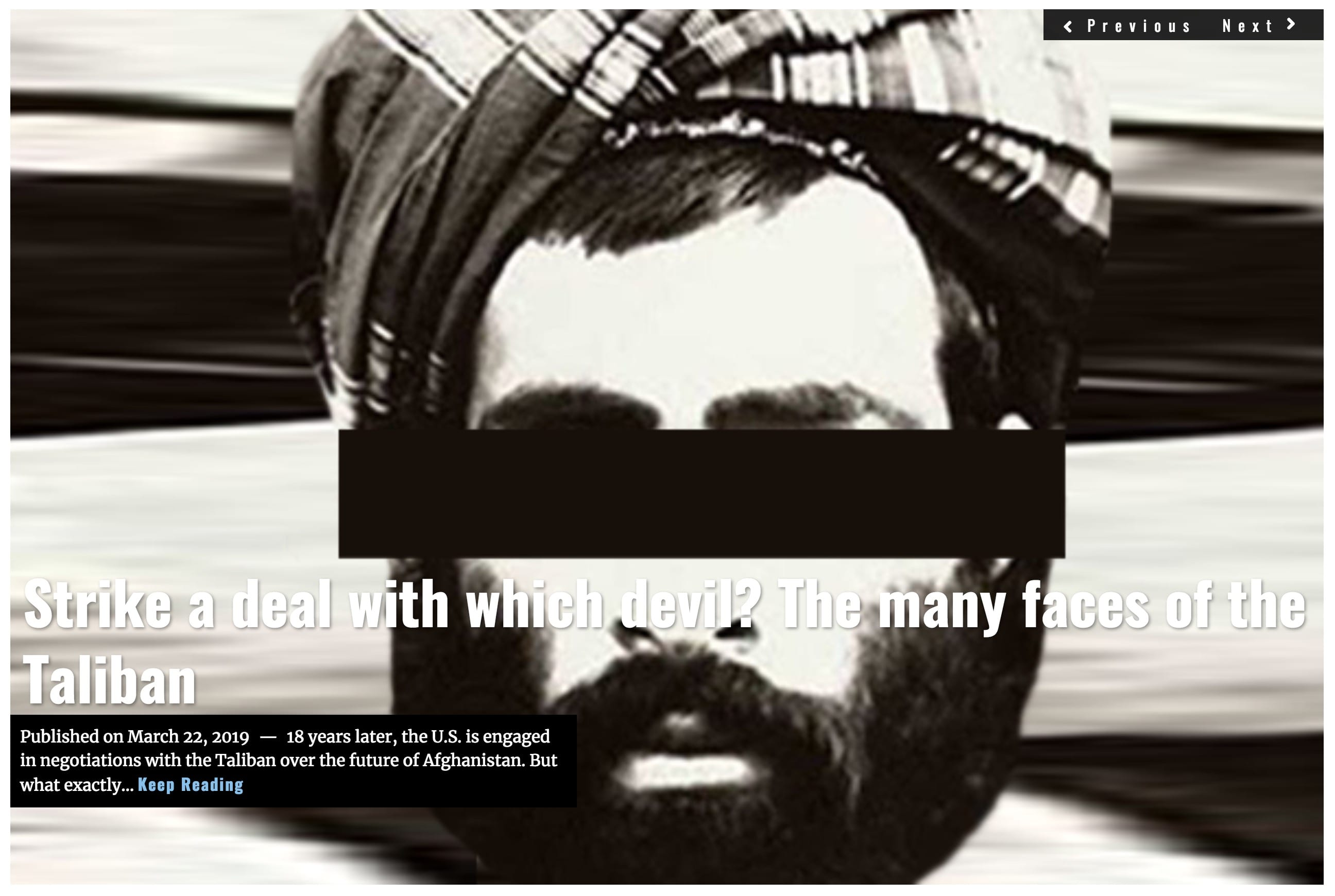 Image Lima Charlie New Headline - Strike a deal with the devil - J. Sjoholm MAR 22 2019