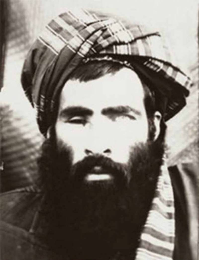 image [Taliban leader Mullah Mohammad Omar, who lost an eye due to a shrapnel wound, died in 2013 [Rahmat Gul / AP]