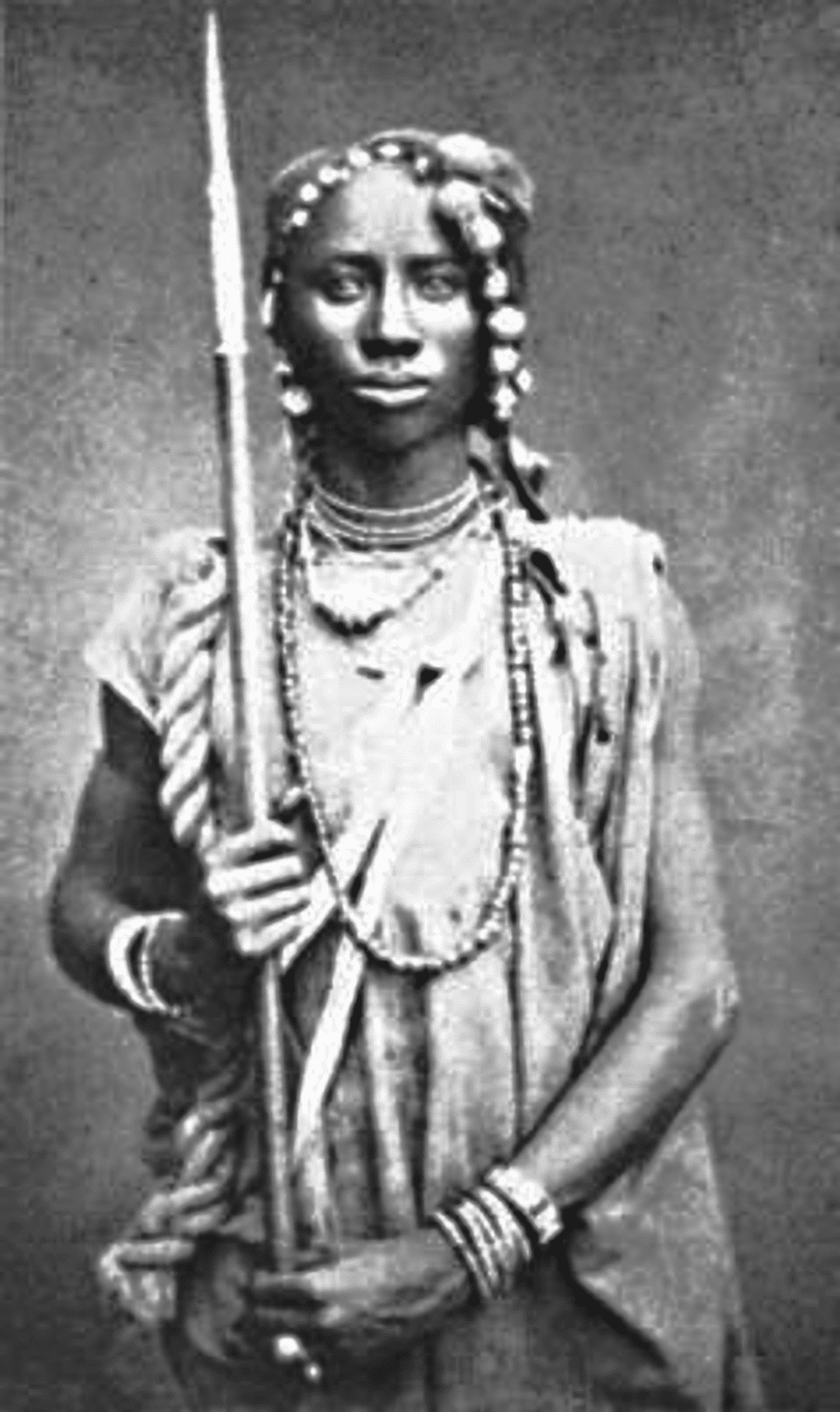 Image [Seh-Dong-Hong-Beh, leader of the Dahomey Amazons]