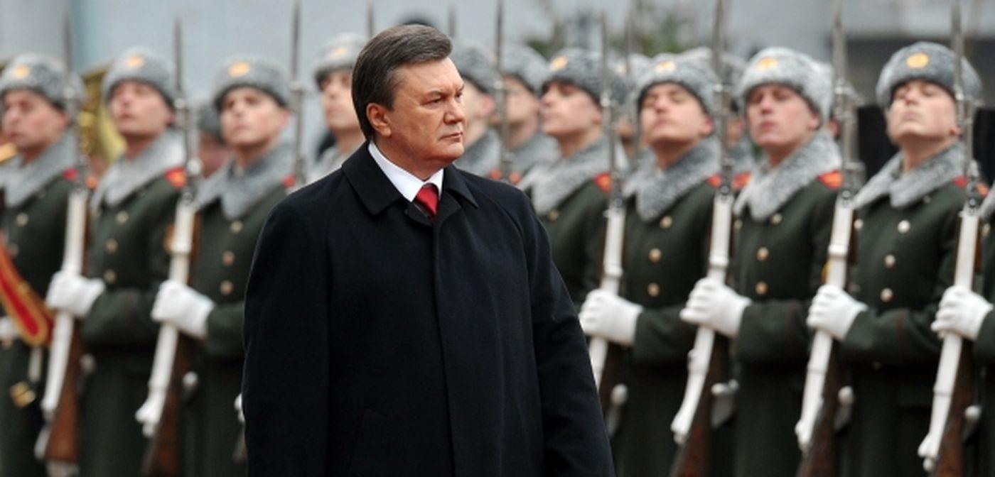 image [Former Ukrainian President Viktor Yanukovych. (Photo: SERGEI SUPINSKY / AFP)]