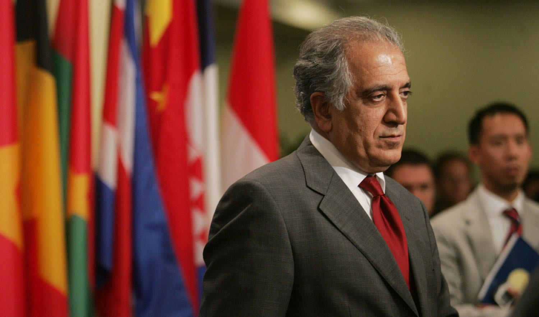 Image [U.S. Special Envoy Zalmay Khalilzad. (Photo: Hiroko Masuike / AFP]