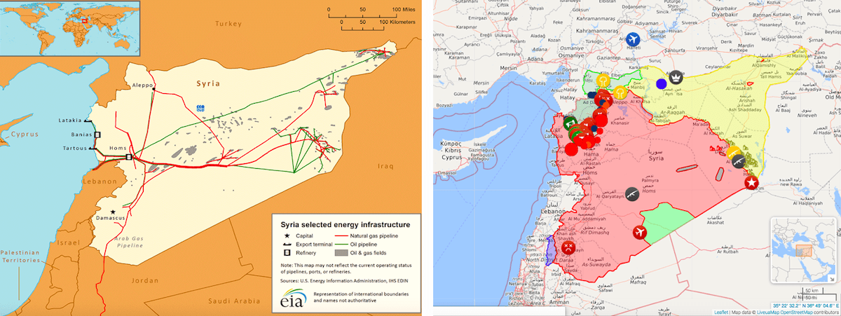 [SYRIA ENERGY (U.S. ENERGY INFORMATION) AND WWW.LIVEUAMAP AS OF MAY 16, 2019]