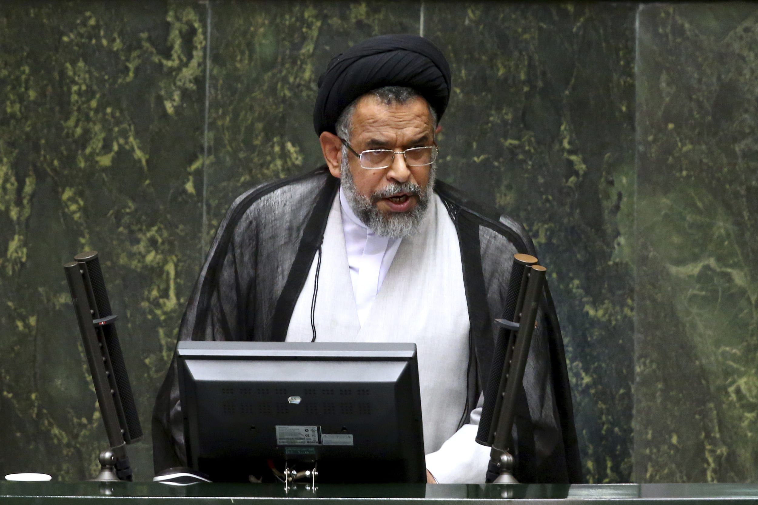 Iranian Intelligence Minister Mahmoud Alavi (Photo: Ebrahim Noroozi / AP)