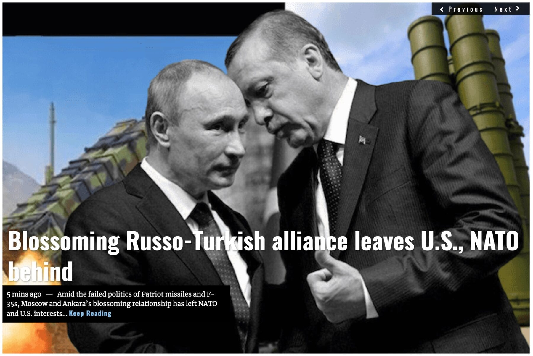 Lima Charlie News Headline Russo-Turkish Alliance AUG 1 2019