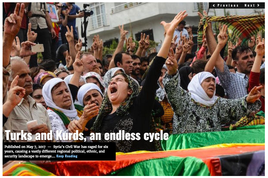 Lima Charlie News headline Turks and Kurds